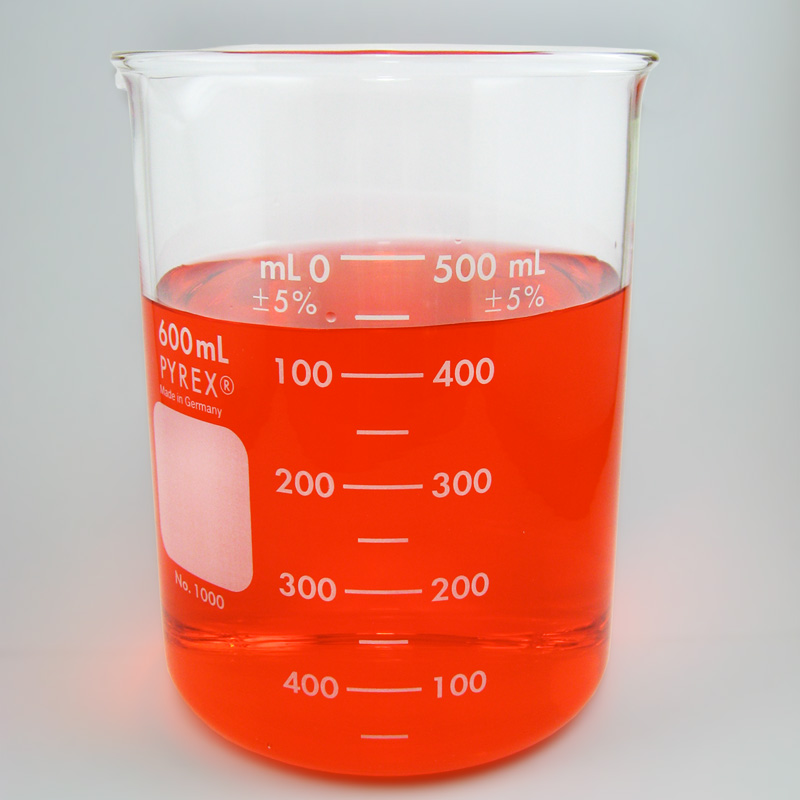 PYREX Glass Beaker, 600mL