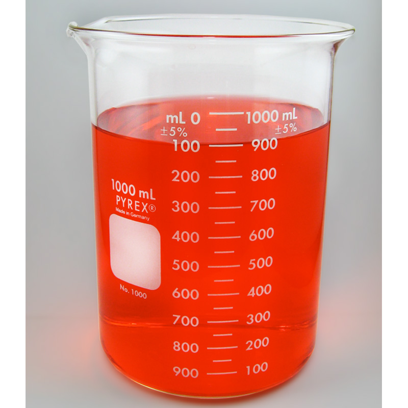PYREX Glass Beaker, 1000mL