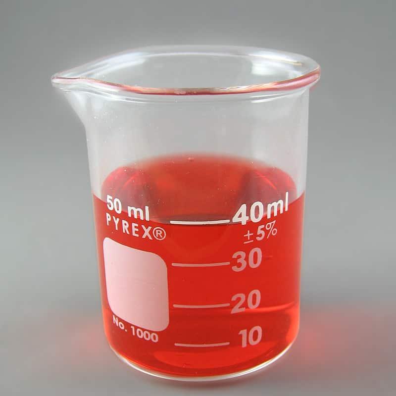 PYREX Glass Beaker, 50mL
