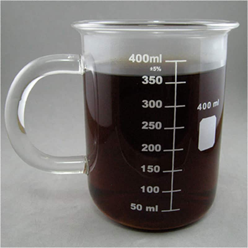 503c3e50357 Caffeine Molecule Beaker Mug, 500ml