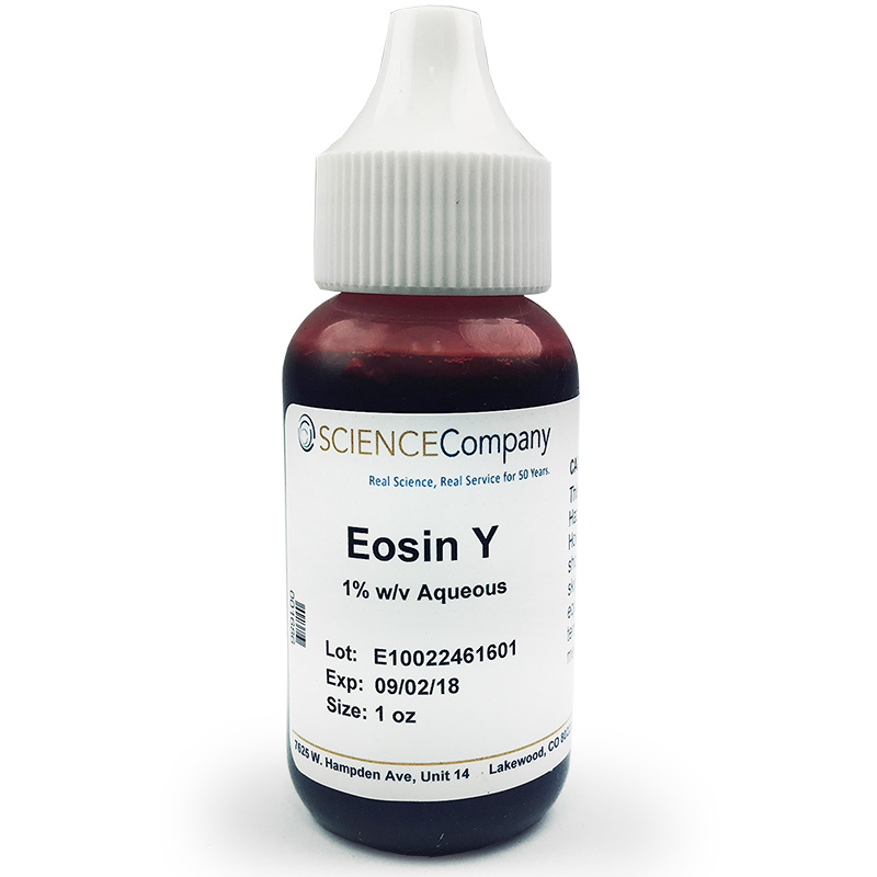 Eosin Y Stain 30ml 1 Oz