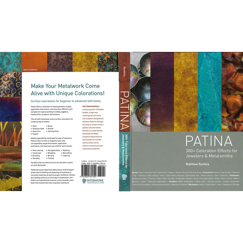 patina 300 coloration effects for jewelers metalsmiths