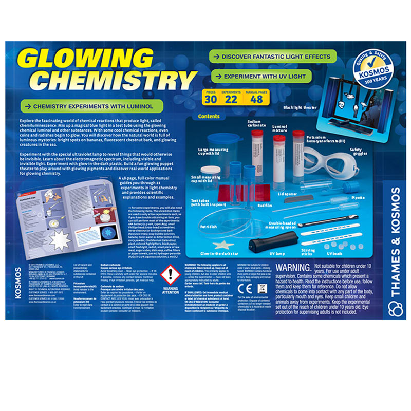 NEW Thames and Kosmos Glowing Chemistry