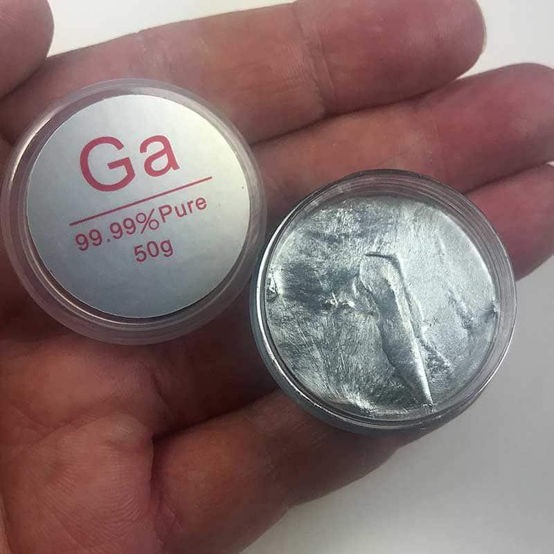 Gallium, 99 99%, 50g