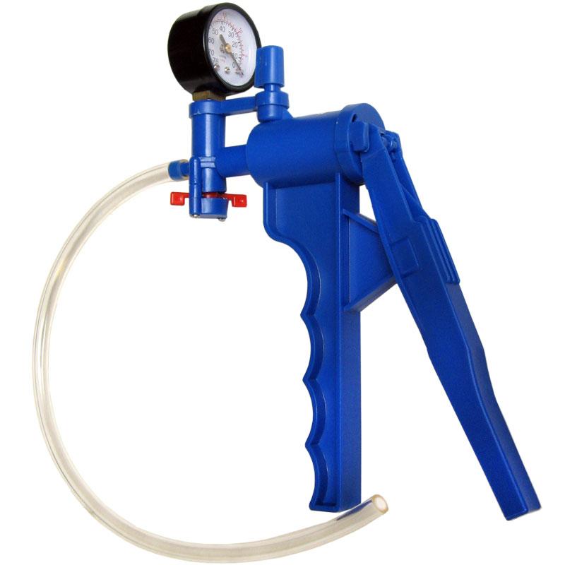 Hand Vacuum Pump With Pressure Gauge