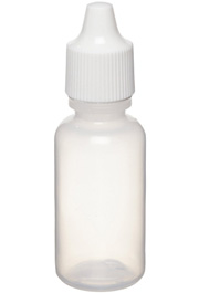 LDPE Polyethylene Squeeze Bottle, 15mL (1/2 oz)