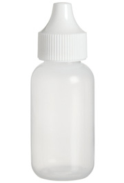 LDPE Polyethylene Squeeze Bottle, 30mL (1 oz)