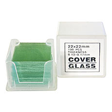 Microscope Slide Cover Glass, 22 x 22mm