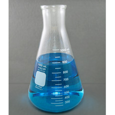 PYREX Glass Erlenmeyer Flask, 1000mL