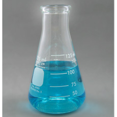 PYREX Glass Erlenmeyer Flask, 125mL
