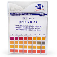 pH-Fix Test Strips, 0-14. Pk/100