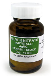 Silver Nitrate Crystals, 25g