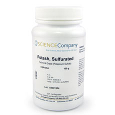 Potash, Sulfurated, 100g