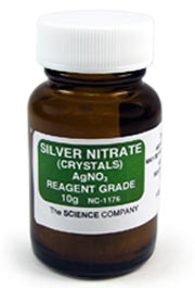 Silver Nitrate Crystals, 10g
