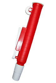 Pipette Pump for Pipettes up to 25 mL, Red