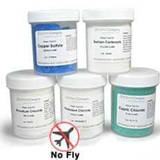 Bulk Flame Test Chemical Kit With Five Chemicals