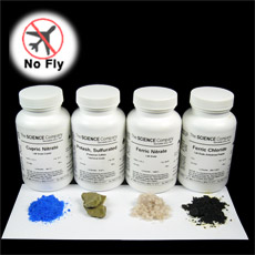 Basic Patina Chemical Kit With Four Chemicals