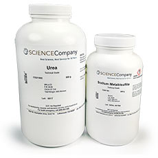 Scrap Gold Recovery Kit - 500g Urea and Sodium Metabisulfite