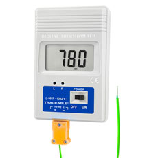 Traceable Pocket-Size Type-K Thermometer (4232)