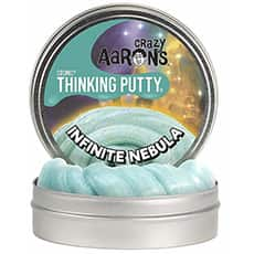 Infinite Nebula Super Glowing Thinking Putty.