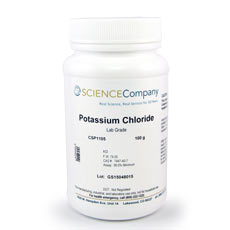 Potassium Chloride, 100g