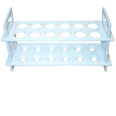 Polyethylene Test Tube Rack, 12 place